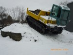 Yanmar C50R-3C with Winter Cleats