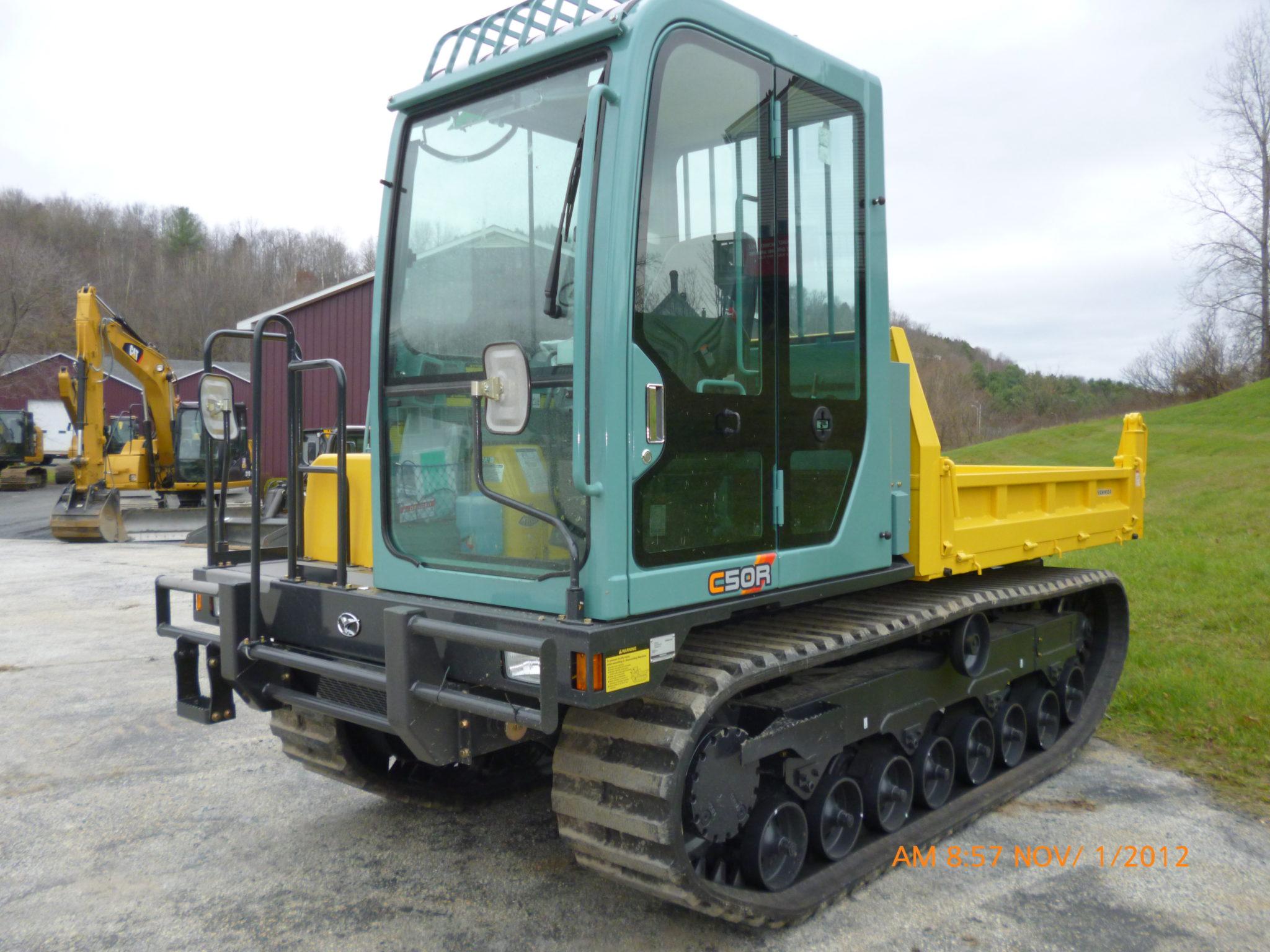 Crawler Carrier Rental, Heavy Equipment Rental, Vermont, New